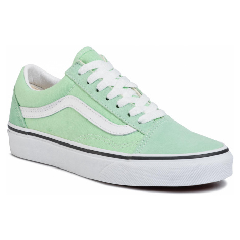 Tenisówki VANS - Old Skool VN0A4U3BWKO1 Green Ash/True White
