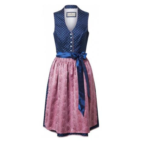 STOCKERPOINT Dirndl 'Cynthia' różowy / niebieski