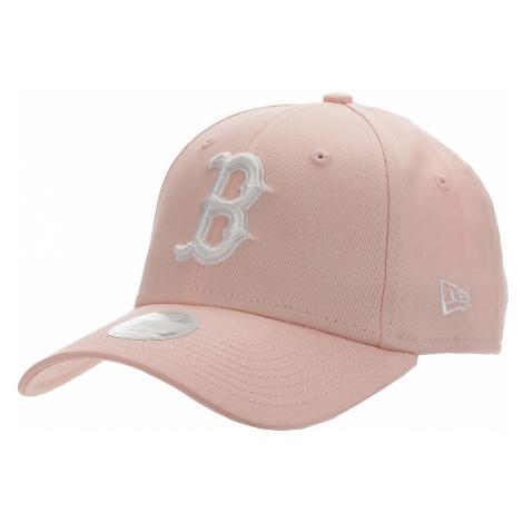 czapka z daszkiem New Era 9FO League Essential MLB Boston Red Sox - Pink/White