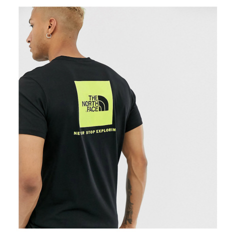 The North Face Red Box t-shirt in black Exclusive at ASOS