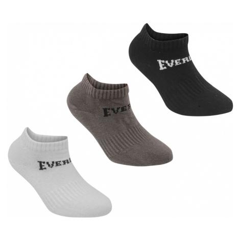Everlast 3 Pack Trainer Socks Ladies