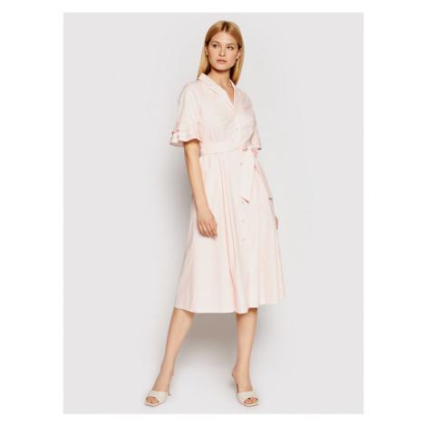 DKNY Sukienka codzienna DD1B3361 Różowy Regular Fit