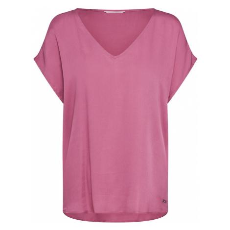TOM TAILOR DENIM Koszulka różowy pudrowy