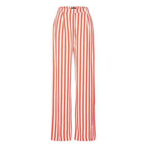 SELECTED FEMME Spodnie 'ALIVA' czerwony / biały