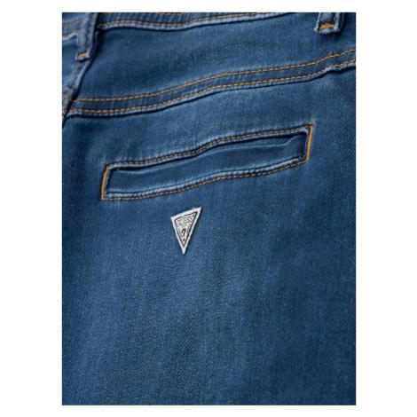 Guess Jeansy L01A00 K9GM0 Granatowy Slim Fit