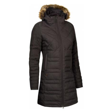 Damski Pikowany Płaszcz Zimowy | Czarny Pinna Corea Chica Woox
