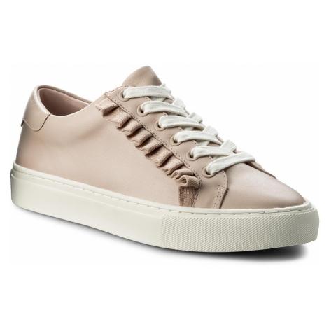 Sneakersy TORY BURCH - Ruffle Sneaker 36558 Shell Pink/Shell 651