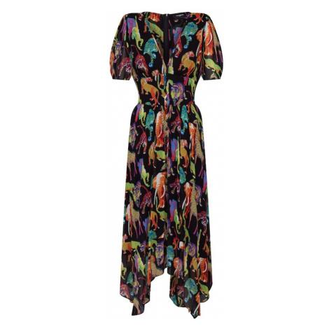 The Kooples Sukienka mieszane kolory / czarny