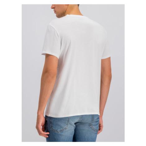 Just Cavalli T-Shirt S03GC0543 Biały Regular Fit