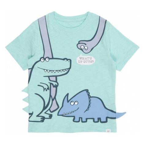 GAP Koszulka turkusowy / fioletowy