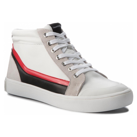 Sneakersy CALVIN KLEIN JEANS - Doris R0798 White/Black/White/To