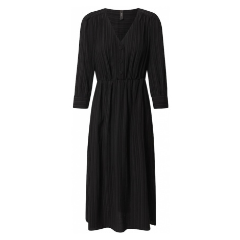 Y.A.S Sukienka koszulowa 'HONGA' czarny