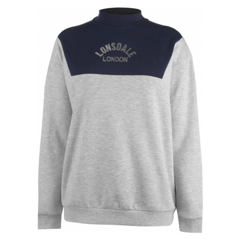 Lonsdale Crew Neck Jumper Ladies