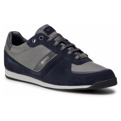 Sneakersy BOSS - Glaze 50407903 10214592 01 Open Blue 463 Hugo Boss