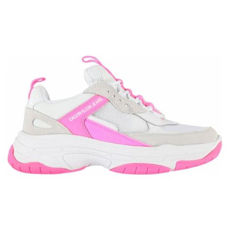 Calvin Klein Jeans Maya Skórzane buty sportowe