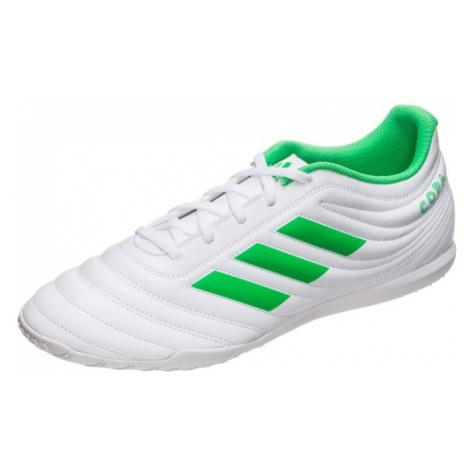 ADIDAS PERFORMANCE Buty piłkarskie 'Copa 19.4' biały / jasnozielony