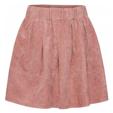 Moves Spódnica 'Kia Corduroy' różowy pudrowy