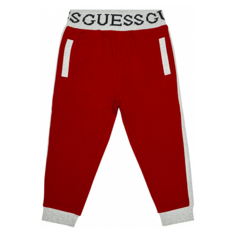 Guess Spodnie dresowe N0BQ07 K82T0 Czerwony Regular Fit