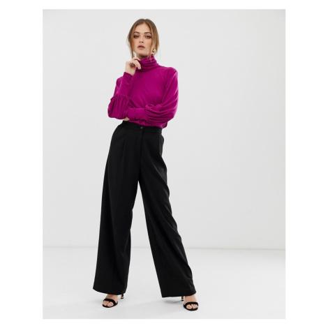 Soaked In Luxury wide leg trousers