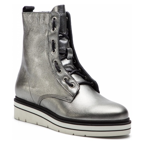 Botki TOMMY HILFIGER - Sporty Feminine Boot FW0FW03985 Light Silver 016