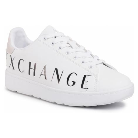 Sneakersy ARMANI EXCHANGE - XUX084 XCC65 00152 Op.White