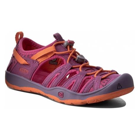 Sandały KEEN - Moxie Sandal 1016353 Purple Wine/Nasturtium