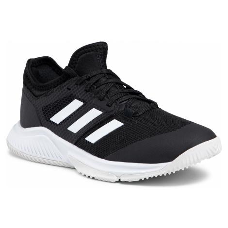 Buty adidas - Court Team Bounce W FX1804 Cblack/Ftwwht/Silvmt