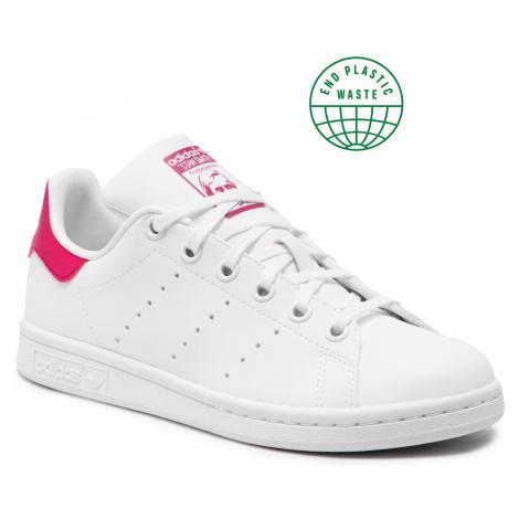 Buty adidas - Stan Smith J FX7522 Ftwwht/Ftwwht/Bopink