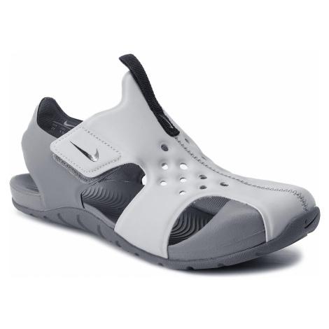 Sandały NIKE - Sunray Protect 2 (PS) 943826 004 Wolf Grey/Black