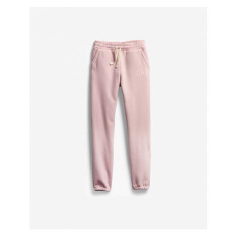 GAP Spodnie dresowe dziecięce Różowy Beżowy