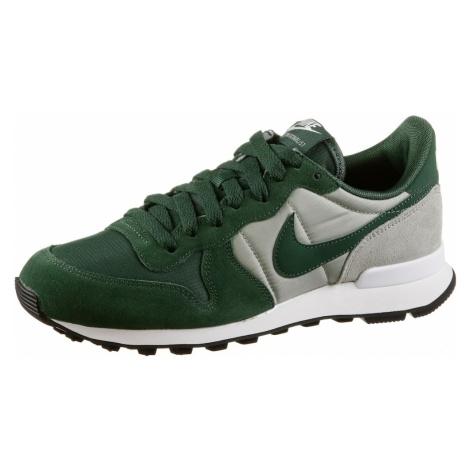 Nike Sportswear Trampki niskie 'Internationalist' szary / ciemnozielony