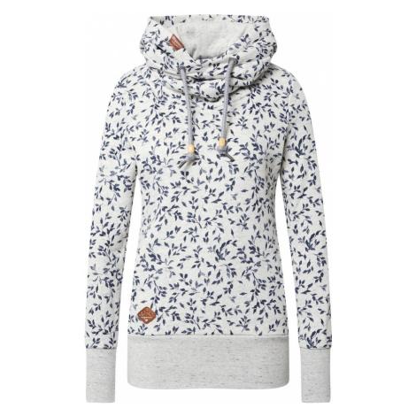 Ragwear Bluzka sportowa nakrapiany biały / niebieski