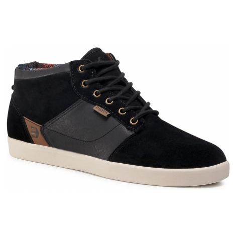 Sneakersy ETNIES - Jefferson Mid 4101000398 Black Raw 536