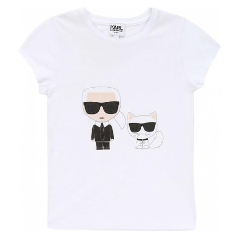 Karl Lagerfeld - T-shirt dziecięcy 138-150 cm