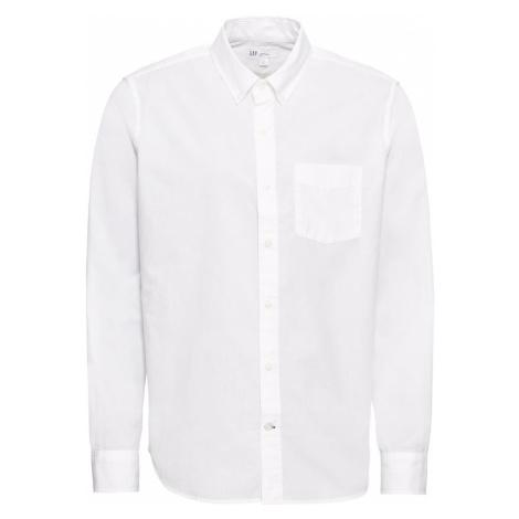 GAP Koszula 'V-STANDARD POPLIN 2018' biały