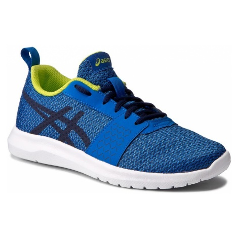 Buty ASICS - Kanmei Gs C745N Directoire Blue/Peacoat/Energy Green 4358