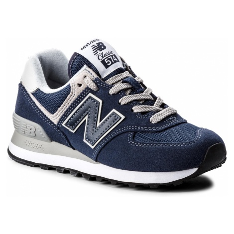 Sneakersy NEW BALANCE - WL574EN Granatowy