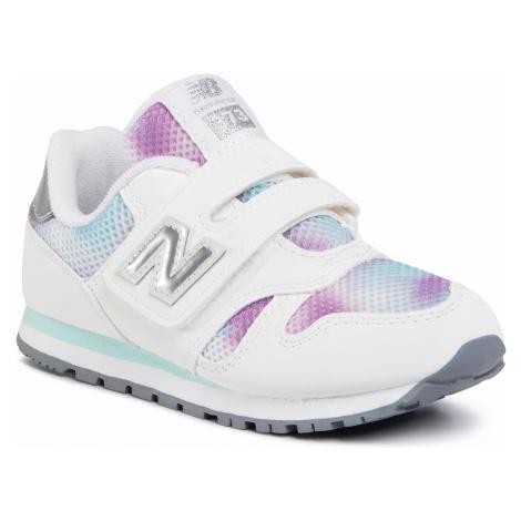 Sneakersy NEW BALANCE - YV373GW Biały Kolorowy