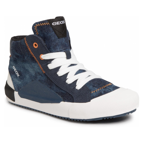 Sneakersy GEOX - J Alonisso B. C J022CC 013AF C0057 S Blue/Orange