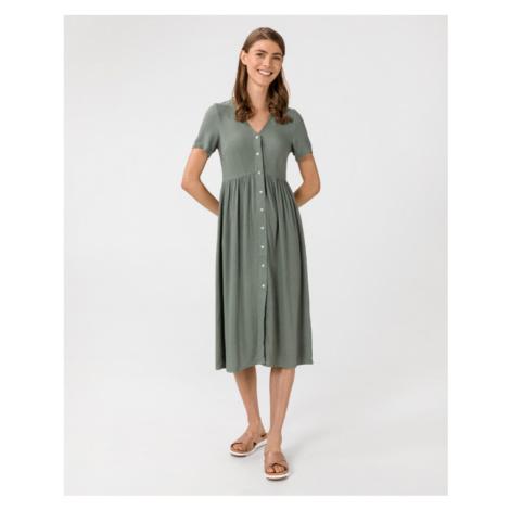 Vero Moda Oma Sukienka Zielony