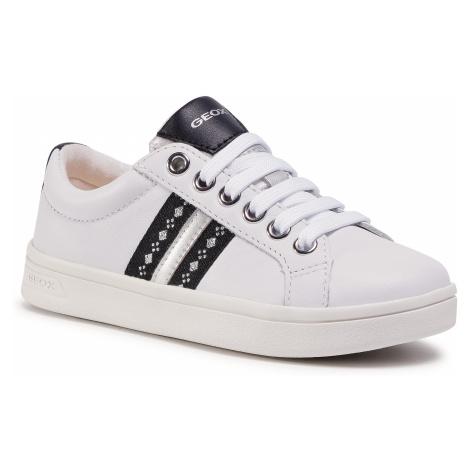 Sneakersy GEOX - J Djrock G.H J024MH 00085 C1000 S White