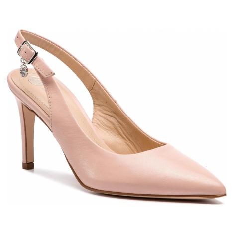 Sandały SOLO FEMME - 75414-88-E06/000-05-00 Pudrowy Róż