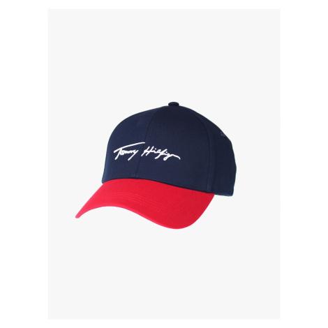 """Tommy Hilfiger """"Signature Cap"""" Blue"""