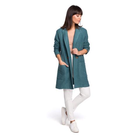 BeWear Woman's Coat B099 Turquoise