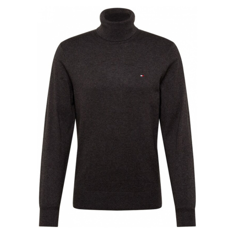 TOMMY HILFIGER Sweter antracytowy