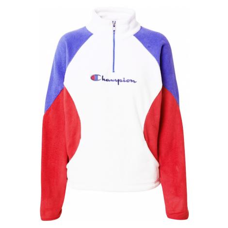 Champion Authentic Athletic Apparel Bluzka sportowa czerwony / biały / niebieski