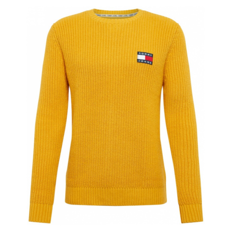 Tommy Jeans Sweter żółty Tommy Hilfiger