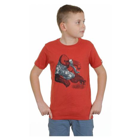 koszulka trykotowa Quiksilver QS Tee Youth F15 - RNZ0/Baked Apple