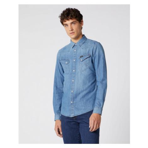 Wrangler Koszula Niebieski