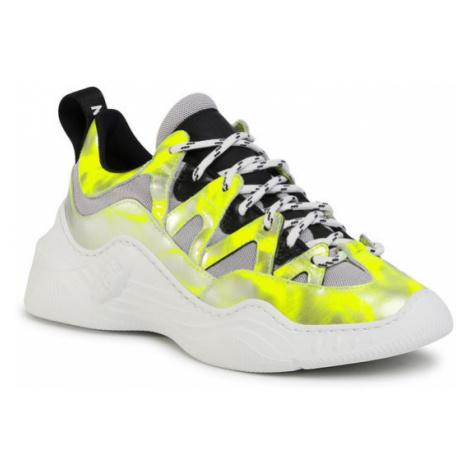 Stokton Sneakersy Warrios-D Żółty